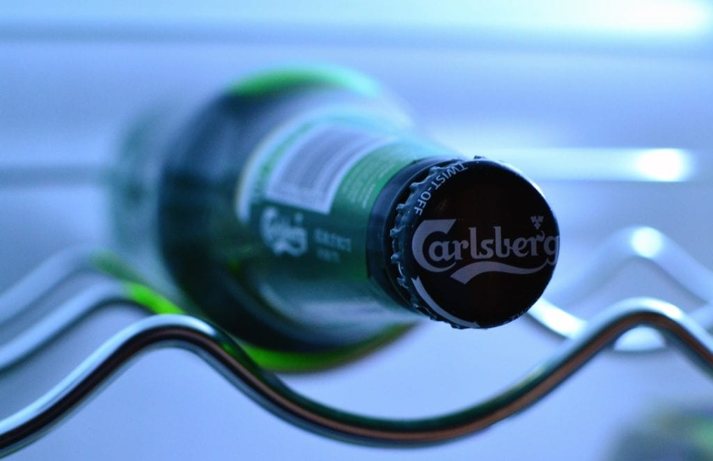 carlsberg, beer, clients, slipping up